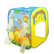 PIGLOO Amusement Park Theme Play House Tent for Kids,100x85x85cm (Multicolour)