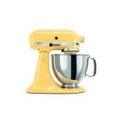 Batedeira Stand Mixer KitchenAid Artisan 10 Velocidades Majestic Yellow 127V KEA33CY