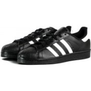 Adidas Originals SUPERSTAR FOUNDATION Sneakers(Black, White)