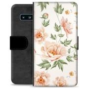Samsung Galaxy S10+ Premium Portemonnee Hoesje - Bloemen
