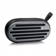 Outdoor Portable Stereo Wireless Bluetooth Speaker Support TF Card AUX Play - Black