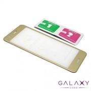 Folija za zastitu ekrana GLASS 5D za Huawei P10 Lite zlatna