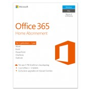Microsoft Office 365 Home - PC, Mac - Frans