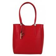 Elegantní vysoká kabelka na rameno 2019-BB červená