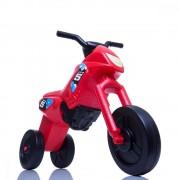 Tricicleta fara pedale Enduro Maxi rosu-negru