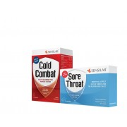 Sensilab Cold Combat + Sore Throat GRATIS
