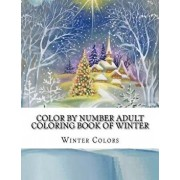 Color by Number Adult Coloring Book of Winter: Festive Winter Fun Holiday Christmas Winter Season Coloring Book, Paperback/Winter Colors