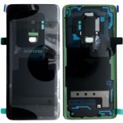 Capac Baterie Samsung Galaxy S9+ Plus G965 Negru Black Original Complet cu Ornamente