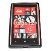 Силиконов гръб ТПУ за Nokia Lumia 720 Черен