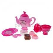 Alcoa Prime 12pcs Pretend Play Kitchen Tea Set Kid Realistic Action Toy Interactive Game