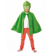 Vegaoo PJ Masks-Gecko Kostümset Umhang und Maske grün