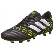 Adidas Men's Nemeziz Messi 17.4 Fxg Cblack/Ftwwht/Syello Football Boots - 8 UK/India (42 EU)