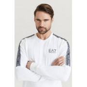 Giorgio Armani EA7 Emporio Armani Sweatshirt Logo Tape Sweat Vit