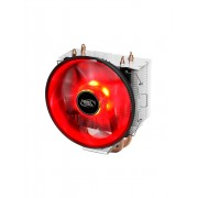 Cooler procesor Deepcool GAMMAXX 300 Red, 3 heatpipe-uri, 120mm Red LED, compatibil Intel/AMD