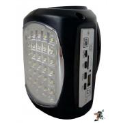 UltraTec Lil' Bud AC/DC Emergency Light (Black)