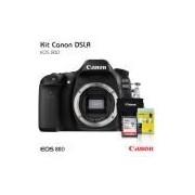 Câmera Canon 80D Corpo, Cartão de 32gb (C/10), Bolsa, Tripé de mesa e Kit Limpeza