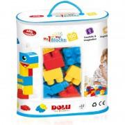 Primele cuburi de construit 100 piese Dolu