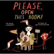 Please, Open This Book!, Hardcover