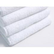 Бяла хавлиена кърпа 30/50 -тип Хотел