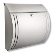 Modena stainless steel letterbox