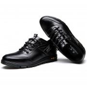 Zapatos Para Hombre Blando Con Plantilla - Negro