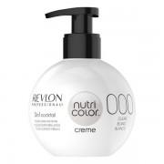Revlon Professional Nutri Color Creme 000 Weiß Um Pastellfarben zu kreieren (1 Teil Farbe + 5 Teile White Cream), 270 ml