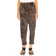 Raquel Allegra Drop Crotch Pant in Brown,Ombre & Tie Dye. - size 1 / S (also in 0 / XS,2 / M)