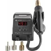 Staţie de lipit/dezlipit cu aer cald pentru SMD, 300 W, 100 - 500 °C, Toolcraft ZD-8908