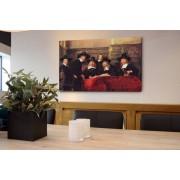 canvas 4cm gevernist 50x50 cm