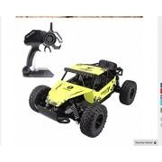 Turbo Cheetah Iron-ride Monster Truck (Yellow)