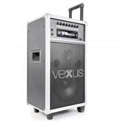 "Vexus ST110, mobil PA rendszer, 20 cm (8""), CD, SD, USB, MP3 (170.007)"