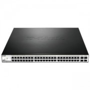 Комутатор D-Link 52-Port PoE Gigabit Smart Switch, DGS-1210-52P