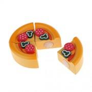 Generic Kitchen Pretend Food Play Toy Wooden Sticky Decorative Mini Cake Kid Present