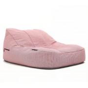 Ambient Lounge Outdoor Satellite Twin Sofa - Raspberry Polo