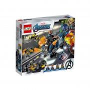 Razbunatorii distrugerea camionului LEGO 76143