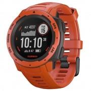 Smartwatch Instinct GPS Flame Red Rosu GARMIN