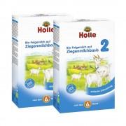 Holle 2 x Bio-Folgemilch 2 auf Ziegenmilchbasis nach dem 6. Monat (2x400g)