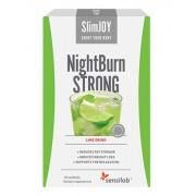 SlimJOY Queimador de gordura NightBurn com um efeito STRONG. Com sabor a limão. 10 saquetas