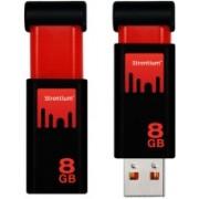 Strontium TNT 8 GB Pen Drive(Black)