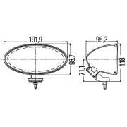 Hella Projecteur antibrouillard 1NB 007 892-041 Hella 1NB007892041