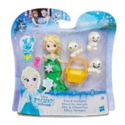 Set Figurine Hasbro Disney Frozen Little Kingdom Mini Figures Elsa & Snowgies