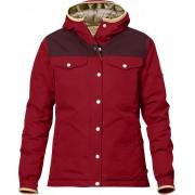 FjallRaven Greenland No.1 Down Jacket W - Deep Red - Daunenjacken XL