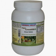 Herbalhills Green food Superfood Natural Anti-oxidant support. Easy to swallow 900 tablets