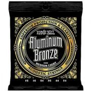 Ernie Ball Aluminum Bronze Medium Light Acoustic Set .012 - .054