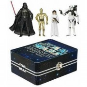 Star Wars Episode IV 4 Collectible Tin Action Figure Set A NEW HOPE with 4 Action Figures: Sandtroop
