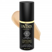 INIKA Certified Organic Liquid Mineral Foundation (Various Colours) - Honey