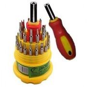 Jackly 31 in 1 Magnetic Screwdriver Set Repair Tool Kit MOBILE REPAIR ALL IN 1