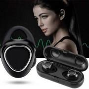 Безжични слушалки Mobile Headset черни, In-Ear Headphones Earbuds Wireless Smart Headsets