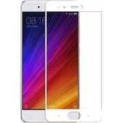 Folie protectie sticla securizata full size pentru Xiaomi MI 5S alb