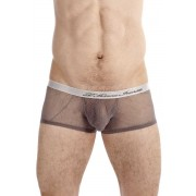 L'Homme Invisible Drifter Hipster Push Up Boxer Brief Underwear Grey MY39-DRI-027